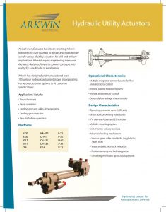 thumbnail of Hydraulic Utility Actuators_PRINT